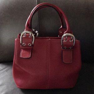 GUC Lil' Red Tignanello Handbag